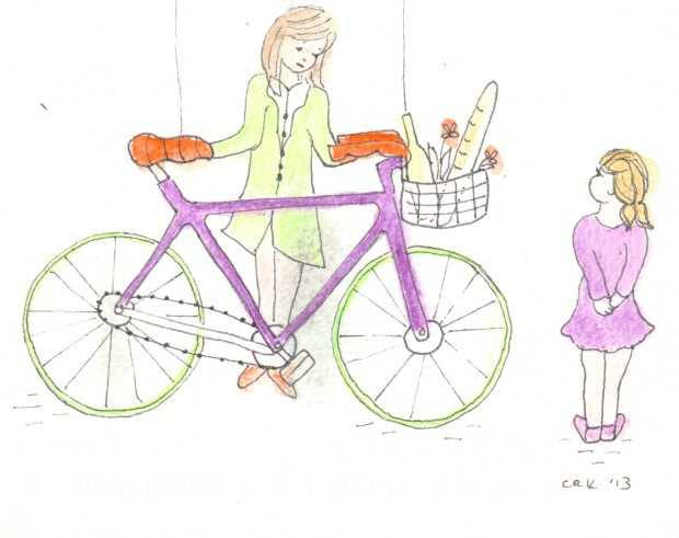 Bicycle and Bread